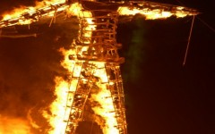 Woman Dies After Falling Under Bus At Burning Man Festival