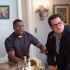 "Jimmy (Kevin Hart) with Doug (Josh Gad) in Screen Gems' ""The Wedding Ringer."""