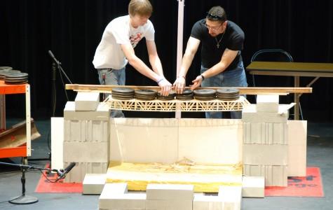 Norfolk Student Wins Northeast Drafting Program Bridge Building Competition