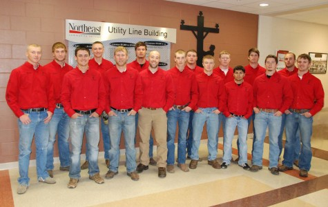 Northeast Community College students earn honors at a utility line rodeo