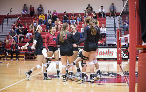 Hawks Volleyball Team Moves Up In National Rankings