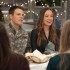 """Jake Lacy, left, and Olivia Wilde in """"Love the Coopers."""" (CBS Films)"""