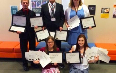 Northeast students win 28 collegiate media awards