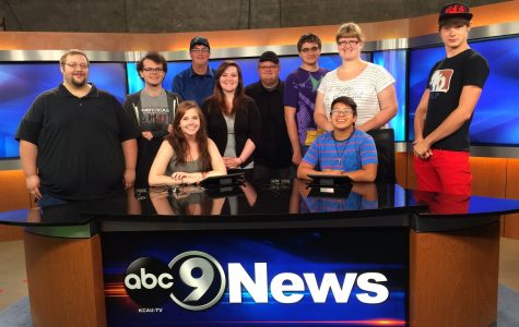 Northeast students visit KCAU-TV in Sioux City