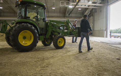Northeast provides hands on learning to students at the Chuck M. Pohlman Agriculture Complex