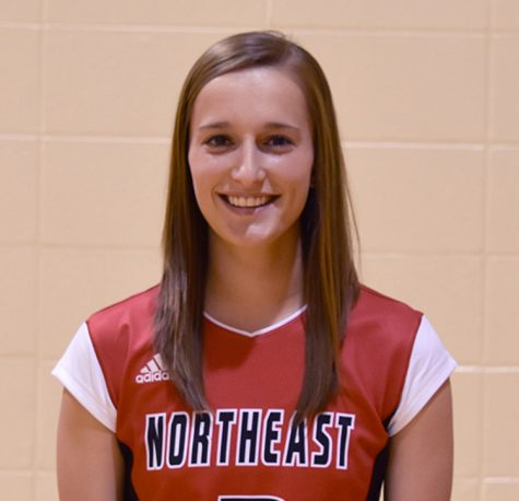 Northeast's Wecker earns conference athlete of the week honor