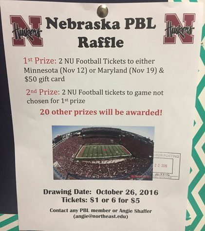 Phi Beta Lambda has Nebraska Football Raffle