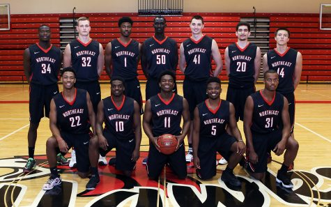 Northeast men's basketball routs York College JV, 141-57