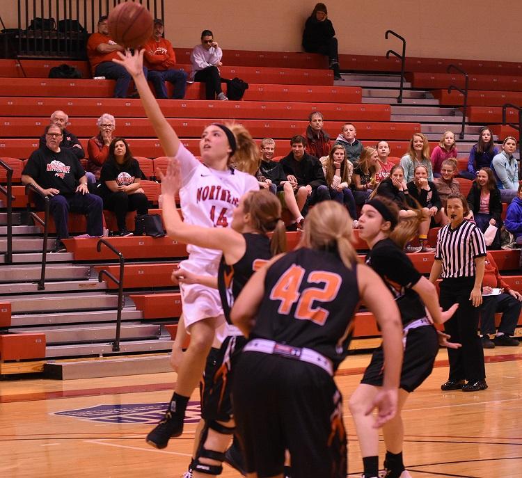 Northeast women's basketball falls to Iowa Western in narrow loss