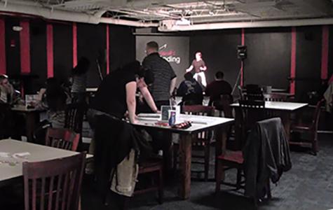 Karaoke kraze at Hawk's Landing