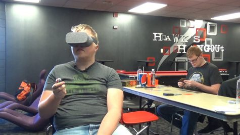Students and staff have a blast with virtual reality