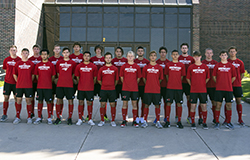 Hawks men's soccer goes scoreless against Iowa Lakes, 2-0
