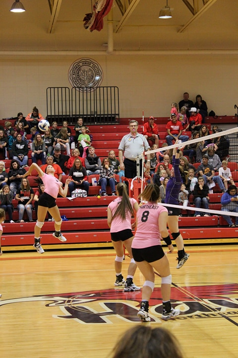Northeast volleyball takes seventh at national tournament