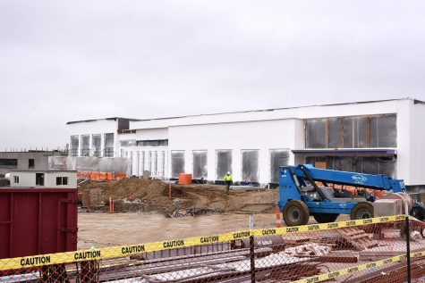 Work continues on Northeast Community College's new campus 'living room'