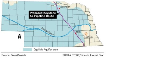 Keystone Pipeline debate held smack dab in the Sandhills