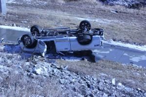 Crash on east Benjamin Avenue