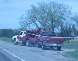 Car Crash on Highway 35