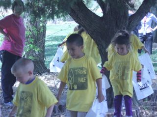 Early Childhood Club Host Arbor Day Events at NECC