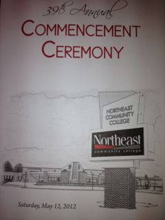 NECC Welcomes the Graduates of 2012