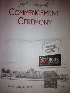 NECC Welcomes the Graduates of 2012