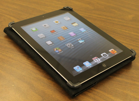 One of the iPads given to students. Photo Credit: Daira Gentrup