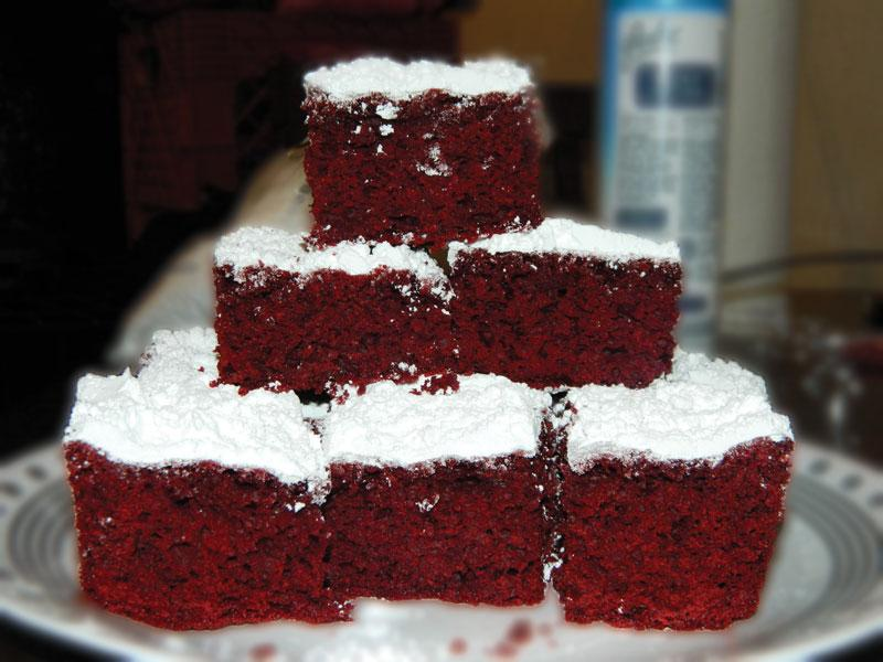 Whats Cooking with Jennifer? : Red Velvet Cake Mix Brownies