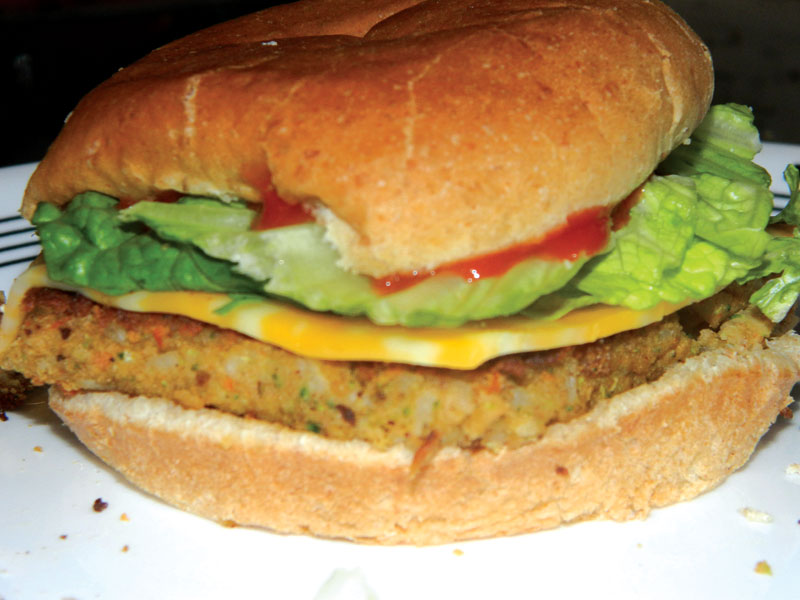 Whats Cooking with Jennifer? : Veggie and Bean Burgers