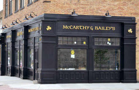 It's Always St. Patrick's Day at McCarthy & Bailey's Irish Pub