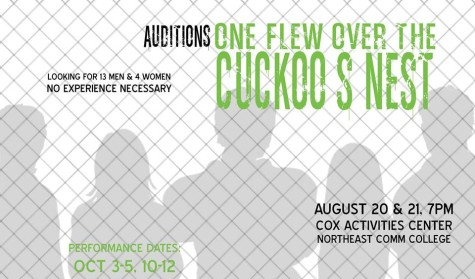"Auditions for ""One Flew Over the Cuckoo's Nest"""