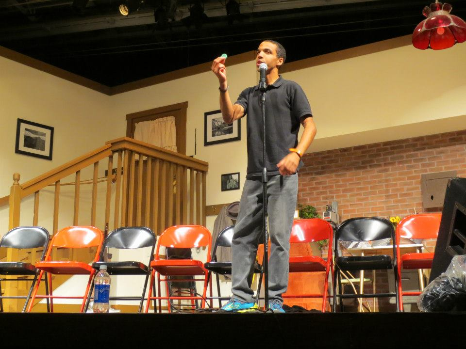 Hypnotist Chris Jones 2012