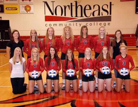 Northeast's volleyball season comes to an end