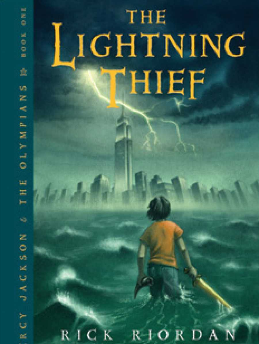 The first book in the Percy Jackson & The Olympians series.