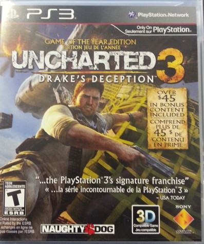 Video Game Review: Uncharted3