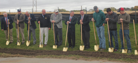 Groundbreaking for new NECC Applied Technology Facility