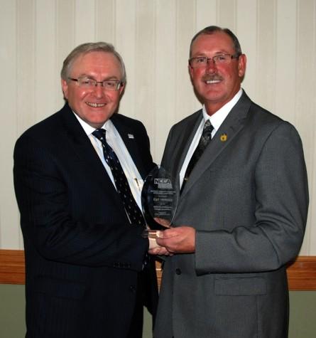 Hensley is named Northeast Community College Distinguished Alumnus