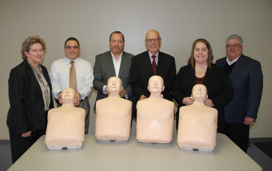 Courtesy Ford Norfolk Ne >> CPR training units donated to NECC – The ViewPoint