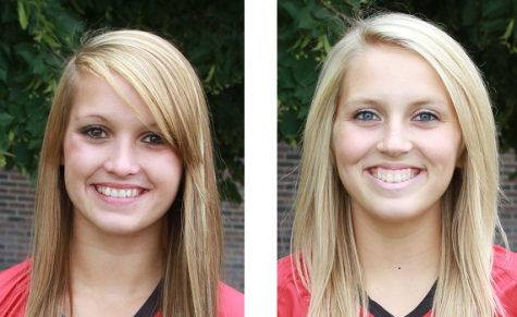 NECC's Nazya Thies and Brittany Sullivan receive Volleyball honors