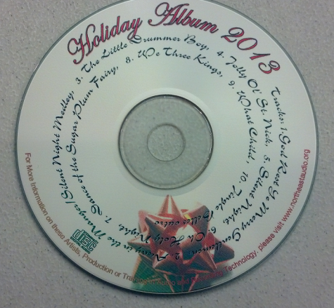 The NECC Audio Recording Holiday CDs are here!