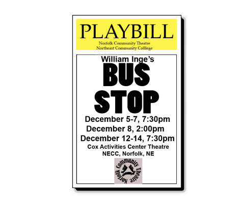 Norfolk Community Theatre and NECC present William Inge's Bus Stop