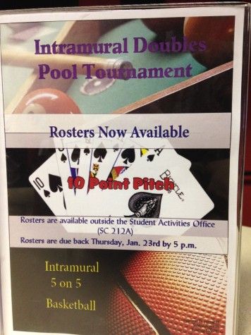 Intramural Sport Rosters Due Friday