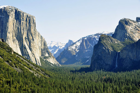 House Backs Controversial Logging At Yosemite