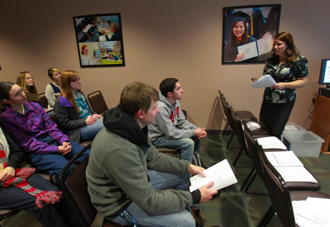 Cedarville University Career Services Certified Professional Resume Writer Laura Lintz leads a workshop for students. Colleges and universities are doing more to survey their students after graduation on whether they are employed or in graduate school.