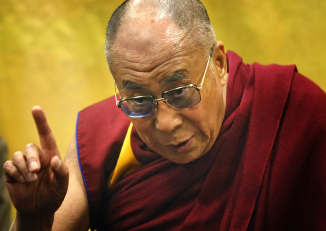 China Protests As Obama Meets With Dalai Lama