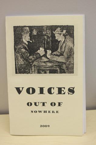 "NECC Student Literature Publication ""Voices Out Of Nowhere"" 2009"