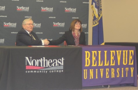 Northeast Community College And Bellevue University Sign Partnership Agreement