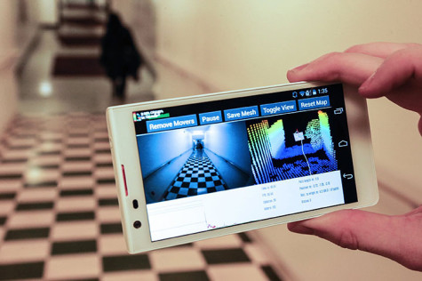 Building An Indoor 3-D Map On The Spot, Via Smartphone