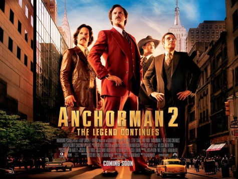 Monday Night At The Movies: Anchorman 2