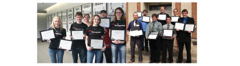 Northeast Students Win Media Awards At Nebraska Collegiate Media Association Conference