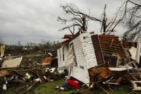 Death Toll Climbs To At Least 30 As Deadly Storms Move Through The South