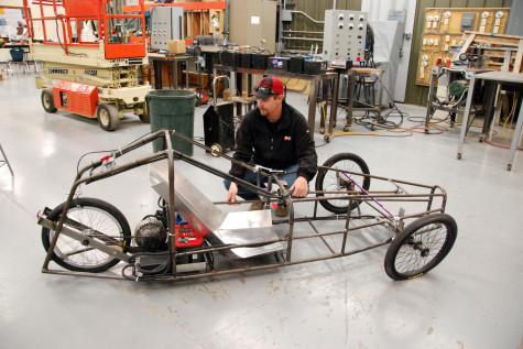 Northeast students build an electric car – in different decades